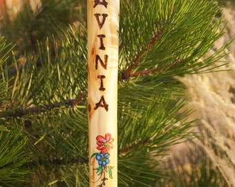 Hiking Stick For Women With optional  Inlay design/Active Woman/ Gift for Her/ Girlfriend/ Mom Gift