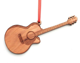 Guitar ornament | Etsy