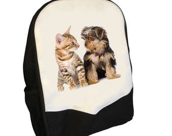Puppy and Kitten Back pack  BMS