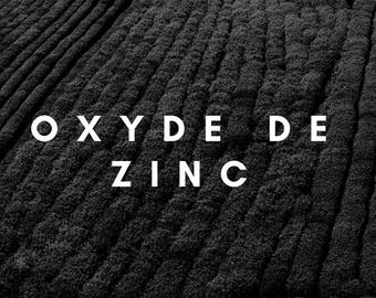 Zinc oxide - making deodorants and DIY projects