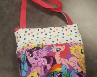 Reversable My little pony purse