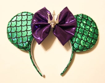 The Little Mermaid Minnie Ears