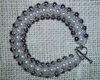 Swarovski Pearl Bridal Bracelet