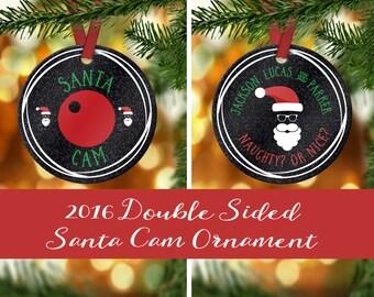 Santa Cam Christmas Ornament - Santa Camera - Elf Camera Ornament - Santa Surveillance - Elf ...
