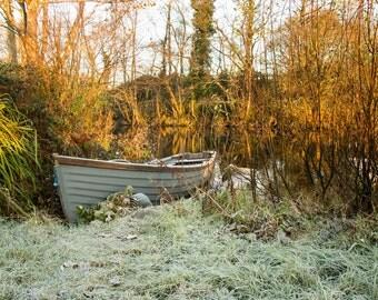 Frosty Boat