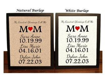 Mother's Day Gift, Gift for Mom, My Greatest Blessings Call Me, Mom Gift, Gift for my mom, Mom Birthday Gift, Gift for Mother, mothers gift