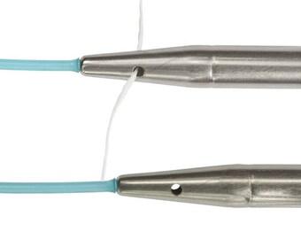 """HiyaHiya 60""""/62"""" LARGE Interchangeable Lifeline Cable for US 9-15 Interchangeable Needles, KnitSaver Interchangeable Cable HiyaHiya Cable"""