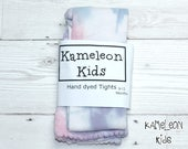 Pastel Baby Tights -Tie D...