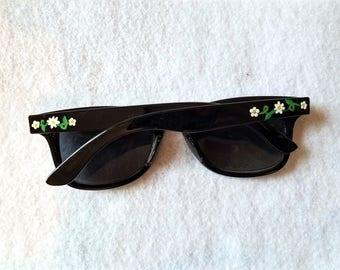 Flower girl daisy kids sunglasses-junior bridesmaids