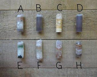 Druzy Amethyst Cylinder Cabochon   Jewelry Supply   Cylinder Shape   10mm Drusy Druzy   Amethyst   393