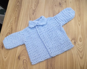 Blue  3 to 6 Months baby boys jacket