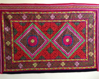 Handcrafted Kazakh wall hanging