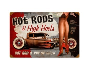 Hot Rods And High Heels