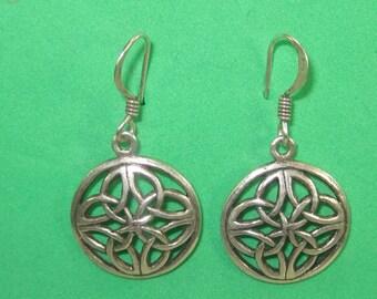 W-19 Vintage Earrings sterling silver