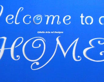 List 2 -  Welcome stencils  *Free gift with every order*
