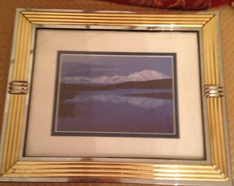 8x10 beautifully framed picture of Denali from my personal collection