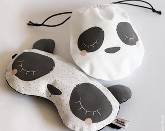 Sleeping mask * Panda * / sleep / Animal / soft / comfort / dream / Zen / gift / travel / vacation