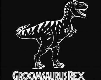 Groom T-Shirt, Funny Groom Shirt, Groom To Be Tshirt, Batchelor T-Shirt Groom Dinosaur Rex Tshirt, Bachelor Party Shirt Husband Rehearsal 9
