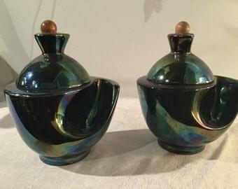Ca. 1930s Denicotea French Ceramics Humidor