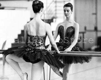 Ballet Photography, Black & White Photography, Ballerina, South African Ballet Theatre. Fine Art Photography, Print Photography, Wall Art