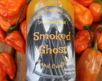 5 oz. Smoked Ghost Insanely Hot Sauce