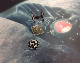 Star Wars X-Wing Compatible Agent Kallus Token