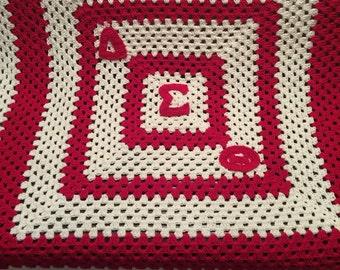 Delta Sigma Theta blanket!