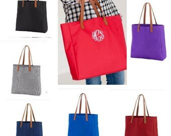 Game day tote, tailgating tote, monogrammed tote