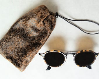 leather glasses case, case phone Suede, rock glasses case, women glasses case, men sunglasses case, case phone trendy