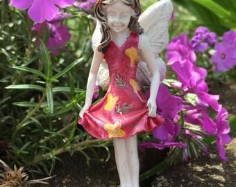 Miniature Garden Fairy, Miniature Fairy, Fairy Garden, Terrarium Garden, Flower Pot Garden, Gardening Fairy