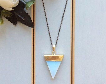 Long necklace, crystal long pendant, gold necklace, long stone necklace, long layering necklace, gemstone necklace, long pendant necklace