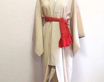 Antique silk kimono /Japanese traditional wear