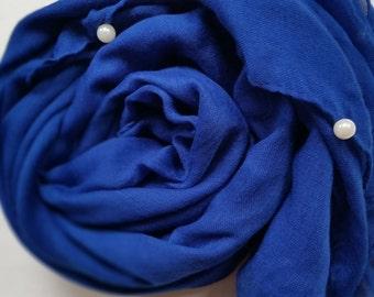 Persian Blue Pearl scarf/hijab