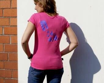 Women T-Shirt Butterfly 01