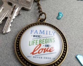 """Key fob """"Family"""""""