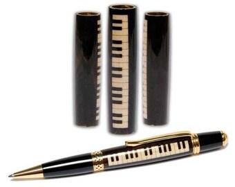 Grand Piano Laser-Cut Inlay Pen