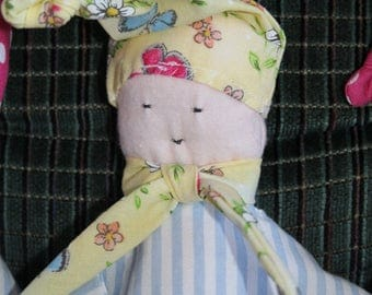 Small soft doll for babies newborn and up