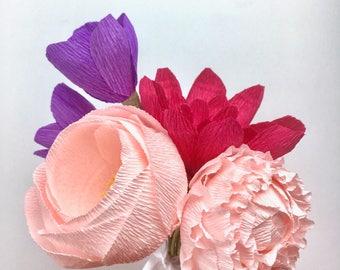Ariel Paper Flower Bouquet
