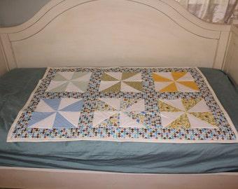 Pinwheel Quilt for Toddler, baby, or child