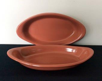 Set of 2 Vintage Hall 522 Au Gratin Dishes