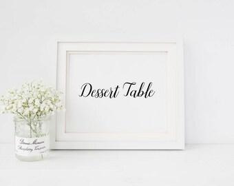 Dessert table wedding sign | Sign for dessert table | Wedding dessert table sign | Dessert table sign | Wedding dessert table sign S1