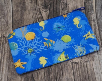 "Pouch ""Down to the sea"""