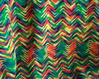 Rainbow colored Afghan