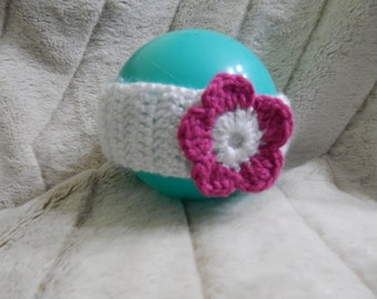 White headband for a baby girl