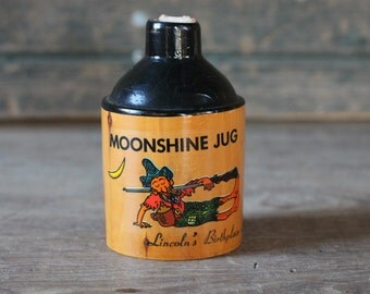 Souvenir moonshine jug