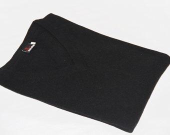 Pure Cashmere Sweater Black / 100% Pashmina Sweater Jumper-Handwoven Super Soft Warm Cashmere Cardigan Pullover V-Neck