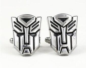 Transformers Cufflink-B11   ** Free Gift Box **