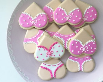 items similar to lingerie sugar cookies on etsy