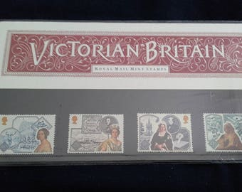 Royal mail stamps victorian britain stamp presentation pack No183