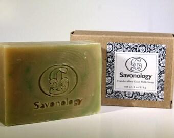 Patchouli Spearmint Soap - Karma Handcrafted Goats Milk Soap - Natural Soap - homemade soap-handmade soap-natural soap - wholesale soaps